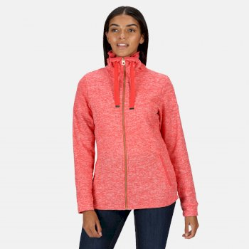 Regatta Women's Evanna Full Zip Lightweight Fleece - Red Sky