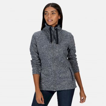 Regatta Women's Evanna Full Zip Lightweight Fleece - Navy