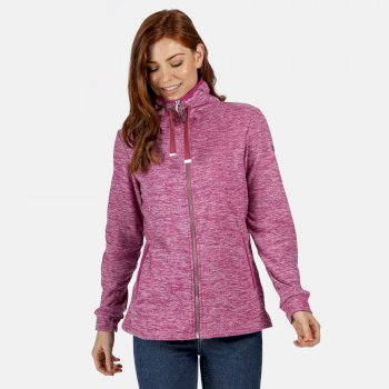Regatta Women's Evanna Full Zip Lightweight Fleece - Violet