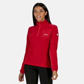 Regatta Women's Highton Lightweight Half Zip Fleece - Dark Cerise