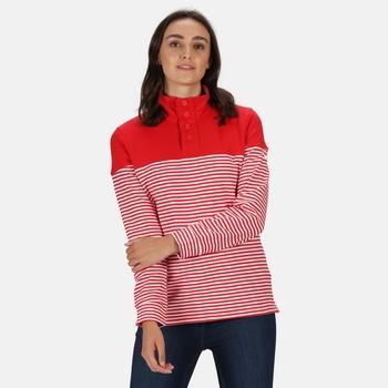 Camiola Sweatshirt mit Trichterkragen für Damen Rot