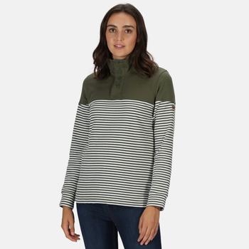 Camiola Sweatshirt mit Trichterkragen für Damen Grün
