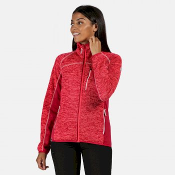 Regatta Women's Laney VII Full Zip Fleece - Neon Pink Dark Cerise