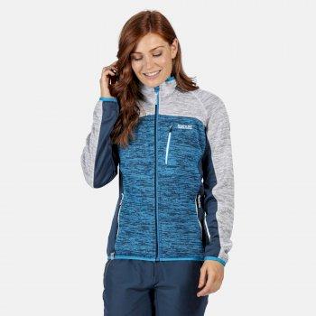Laney VII Fleece mit durchgehendem Reißverschluss für Damen Blau
