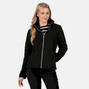 Regatta Women's Brandall Full Zip Heavyweight Fleece - Black