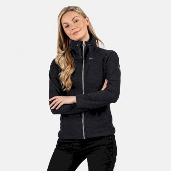 Regatta Women's Zaylee Full Zip Mid Weight Fleece - Navy