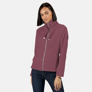 Kimberley Walsh Zaylee Full Zip Mid Weight Fleece - Dusky Heather