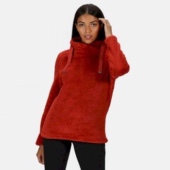 Hannelore kuscheliges Fleece zum Drüberziehen für Damen Orange
