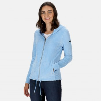 Kimberley Walsh Ranielle Full Zip Hooded Fleece - Blueskies