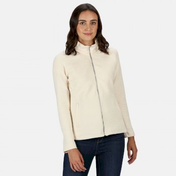Regatta Women's Sadiya Full Zip Quilted Fleece - Light Vanilla