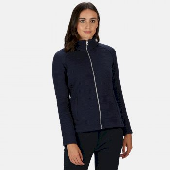 Regatta Women's Sadiya Full Zip Quilted Fleece - Navy