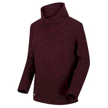Regatta Women's Radmilla Mid Weight Overhead Fleece - Dark Burgundy