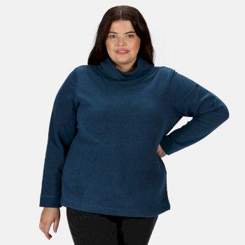 Radmilla mittelschweres Fleece zum Drüberziehen für Damen Blau