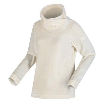 Radmilla mittelschweres Fleece zum Drüberziehen für Damen Sahne