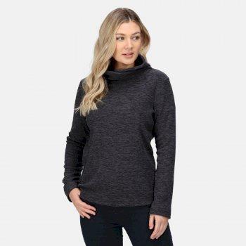 Radmilla mittelschweres Fleece zum Drüberziehen für Damen Grau