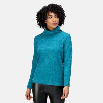 Radmilla mittelschweres Fleece zum Drüberziehen für Damen Grün