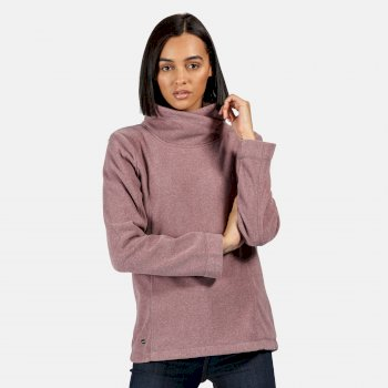 Kimberley Walsh Radmilla Mid Weight Overhead Fleece - Dusky Heather