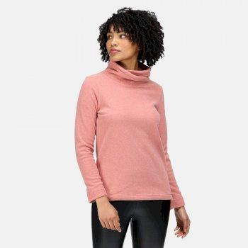 Radmilla mittelschweres Fleece zum Drüberziehen für Damen Rosa
