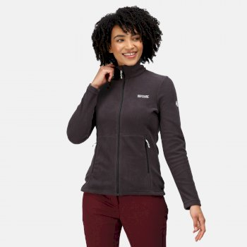 Regatta Women's Floreo III Full Zip Mid Weight Walking Fleece - Ash