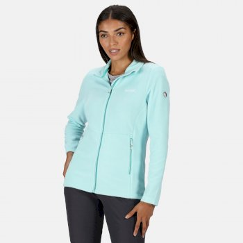 Regatta Women's Floreo III Full Zip Mid Weight Walking Fleece - Cool Aqua