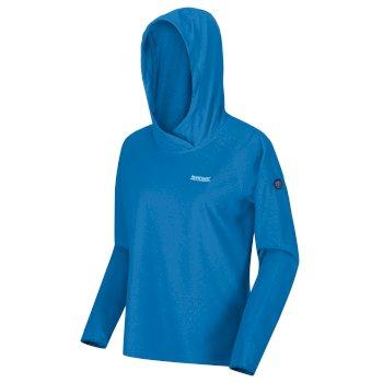 Montes leichter Kapuzenpullover für Damen Blau