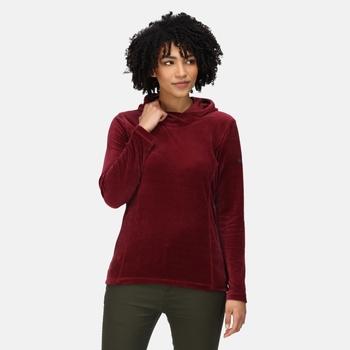 Kyrielle mittelschwerer Fleece-Hoodie für Damen Lila