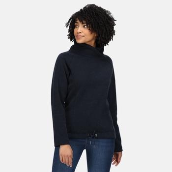 Bethan mittelschwerer, kuscheliger Fleece-Nackenwärmer für Damen Blau