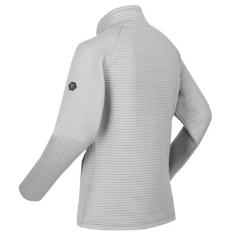 Bawdon mittelschwer-geripptes Fleece für Damen Grau