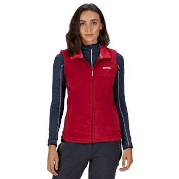 Women's Sweetness II Fleece Gilet Dark Cerise