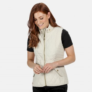 Regatta Women's Carita Quilted Gilet - Light Vanilla