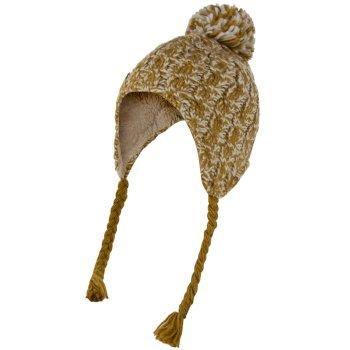 Regatta Women's Whirlwind Cable Knit Trapper Hat - Gold Cumin