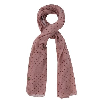 Regatta Sancia Printed Scarf - Mellow Rose Polka Dot