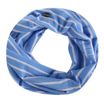 Shaila Gestreifter Schal In Jersey-Qualität Blau