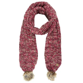 Regatta Frosty II Knitted Scarf - Burgundy