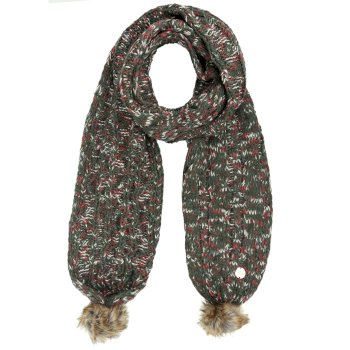 Regatta Frosty II Knitted Scarf Dark Khaki