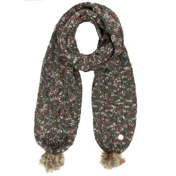 Regatta Frosty II Knitted Scarf - Dark Khaki