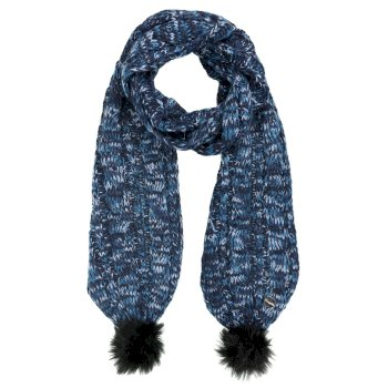 Regatta Frosty II Knitted Scarf - Navy