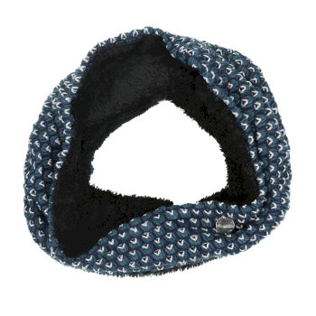 Regatta Harleth Textured Knit Snood - Majolica Blue