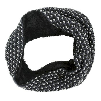 Regatta Harleth Textured Knit Snood Black