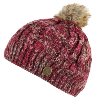 Regatta Frosty II Acrylic Hat Burgundy