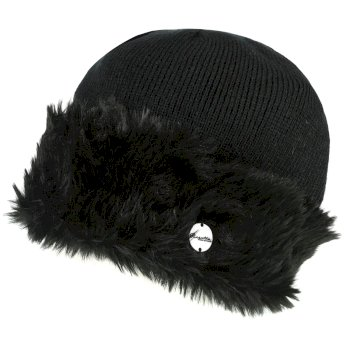 Regatta Women's Luz Jersey Knit Hat - Black