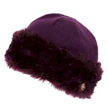Women's Luz Jersey Knit Hat - Prune