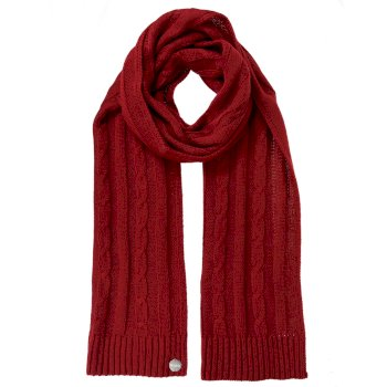 Regatta Multimix II Cable Knit Scarf - Delhi Red