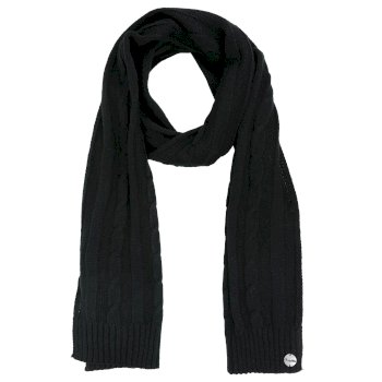 Regatta Multimix II Cable Knit Scarf - Black