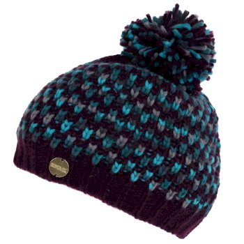 Regatta Women's Frosty III Bobble Hat - Prune