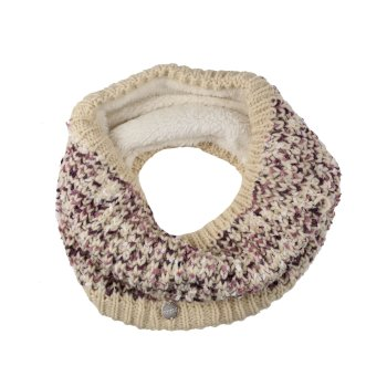 Regatta Women's Lorelai Chunky Acrylic Knit Snood - Light Vanilla