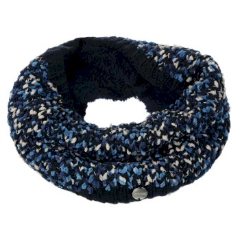 Regatta Women's Lorelai Chunky Acrylic Knit Snood - Navy