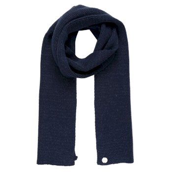 Regatta Women's Multimix III Acrylic Knit Scarf - Navy