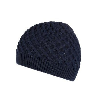 Regatta Women's Multimix Diamond Acrylic Knit Hat - Navy