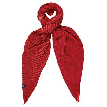 Meggie Plissee-Schal für Damen Rot